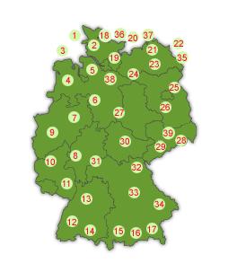 urlaubsziele deutschland karte Home urlaubsziele deutschland karte
